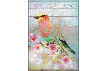 Dawn Chorus - 2020 Diary Planner A5 Padded Cover by The Gifted Stationery