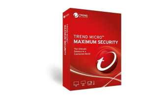 TREND MICRO Maximum Security (1-5 Devices) 24mth Retail Mini Box