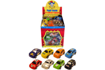 Henbrandt Pull Back Car Party Bag Toys (Pack Of 48) (Multicoloured)