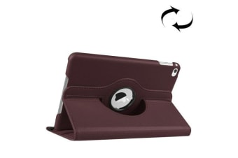 For iPad Mini 4 Case  Leather High-Quality Durable Shielding Cover Coffee