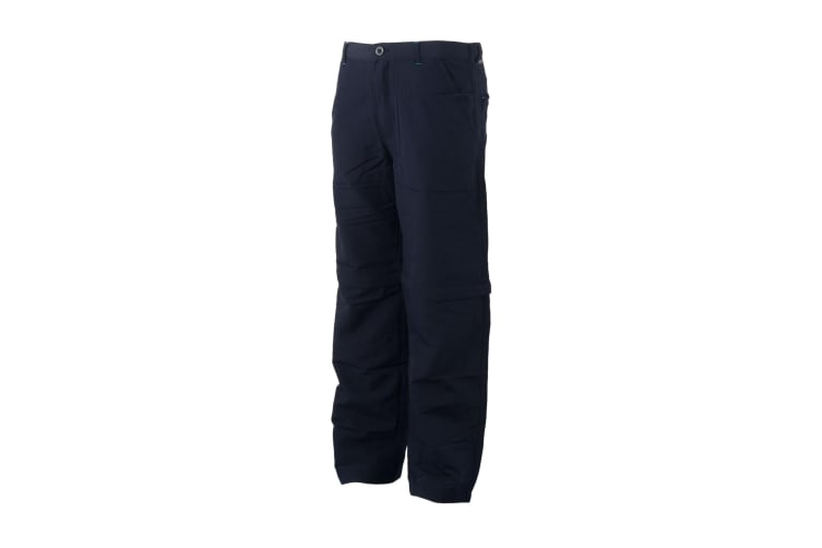 Regatta Great Outdoors Childrens/Boys Sorcer Zip-Off Trousers (Navy) (3-4 Years)