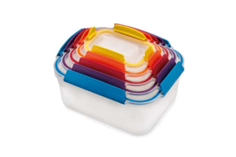 Joseph Joseph Multi Coloured Nest Lock 5 Piece Container Set