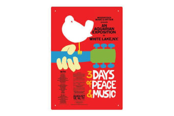 Woodstock Tin Sign