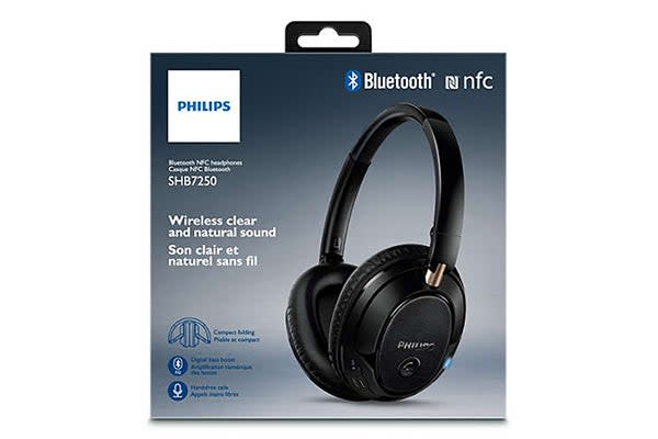 Philips Over-Ear Bluetooth Headphones (SHB7250)