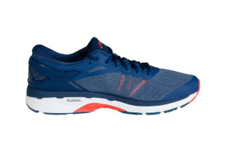 ASICS Men's Gel-Kayano 24 Running Shoe (Smoke Blue/Smoke Blue/Dark Blue)