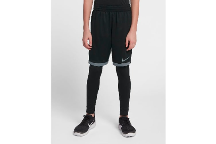 Nike Boys' Dri-Fit Trophy Shorts (Black, Size L)