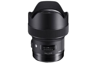 New Sigma 14mm f/1.8 DG HSM Art Canon Lens (FREE DELIVERY + 1 YEAR AU WARRANTY)
