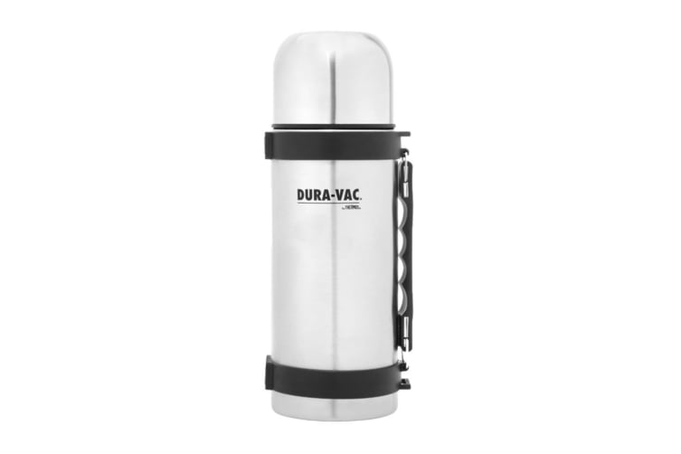 2PK Dura-Vac by Thermos 1L Vacuum Insulated Stainless Steel Flask Water Bottle