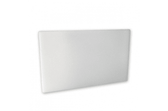Large White Plastic Chopping Board 450 X 610 X 13mm