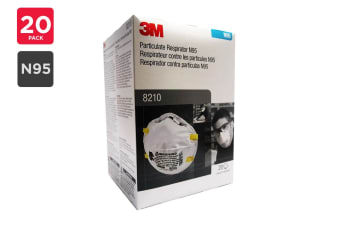 3M 8210 N95 Particulate Respirator (20 Pack)