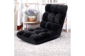 Artiss Floor Sofa Lounge Chair Futon Folding Adjustable Recliner Legless Tatami