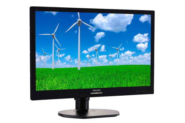 "Philips 21.5"" Full HD 1920x1080 Business Monitor with SmartErgo Stand (221S6LCB)"