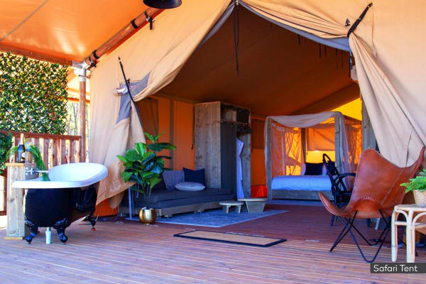 BENDIGO: 1 Night at Balgownie Estate Winery Retreat for Two (Bell Tent)