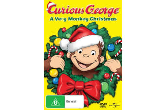 Curious George A Very Monkey Christmas DVD Region 4