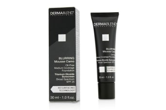 Dermablend Blurring Mousse Camo Oil Free Foundation SPF 25 (Medium Coverage) - #35N Wheat (Exp. Date 10/2019) 30ml/1oz