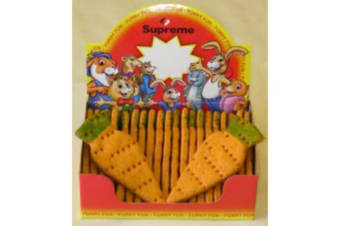Supreme Giant Carrots Treats (Pack Of 25) (May Vary) (One Size)