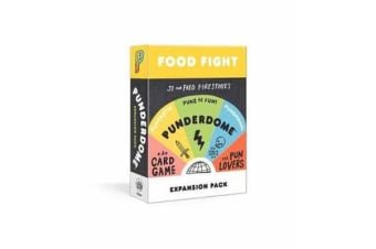 Punderdome Food Fight Expansion Pack - 50 S'more Cards to Add to the Core Game