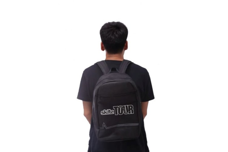Go Skitz Tour Folding Scooter with Backpack Black