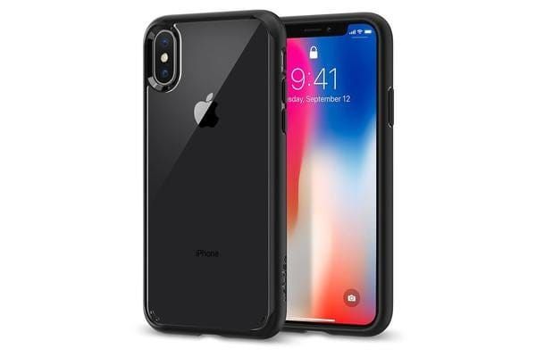 Spigen iPhone X Ultra Hybrid Case Matte Black