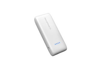 RAVPower 12000mAh 2 USB port External Battery Power Bank Portable Charger WHITE