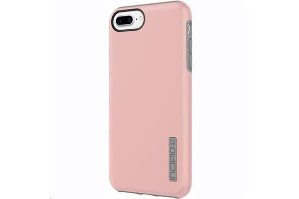 Incipio iPhone 7 Plus DualPro Hard Shell Case with Silicone Core - Iridescent Rose Gold/Gray