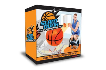 Slam Dunk - Toilet Basketball Set