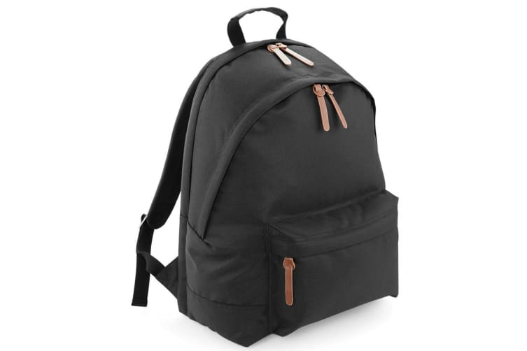 Bagbase Campus Padded Laptop Compatible Backpack/Rucksack (Pack of 2) (Black) (One Size)