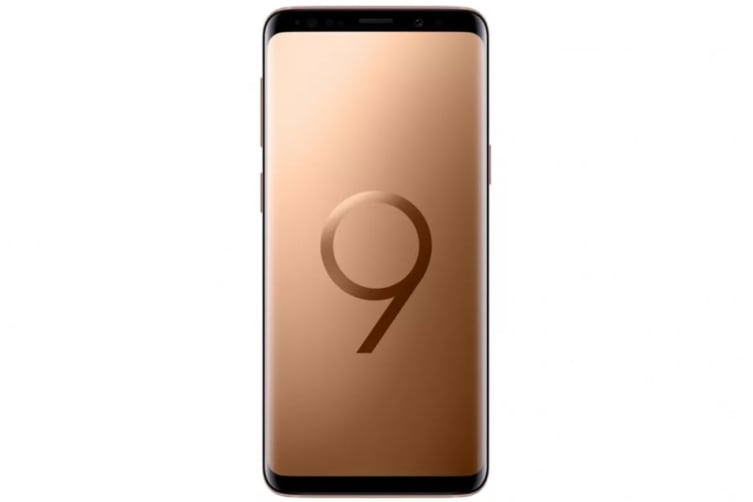 Samsung Galaxy S9+ (256GB, Sunrise Gold)