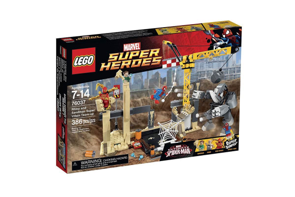 Lego Marvel Spider-Man - Rhino and Sandman Super Villain Team-up