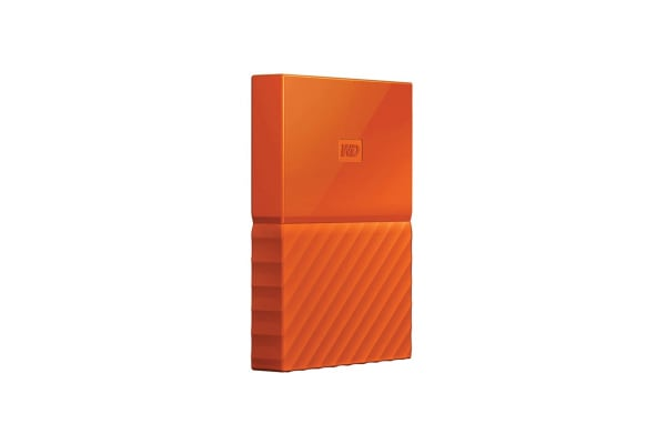 WD My Passport 1TB USB 3.0 Portable Hard Drive - Orange (WDBYNN0010BOR-WESN)