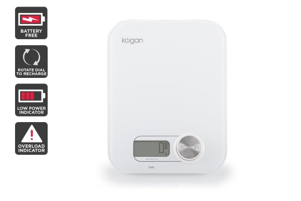 Kogan Battery-Free Kitchen Scales