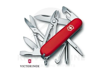 NEW SWISS ARMY KNIFE DELUXE TINKER VICTORINOX 35697 MULTI-TOOL POCKET KNIFE