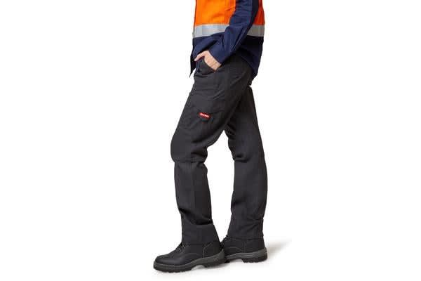 Hard Yakka Vented Cargo Pants (Charcoal, Size 12)