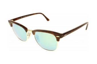 Ray-Ban RB3016 CLUBMASTER - Havana Sand Gold (Grey Mirror Green lens)   69afe77883