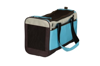 Trixie Fiona Carrier (Light Blue/Beige/Brown)