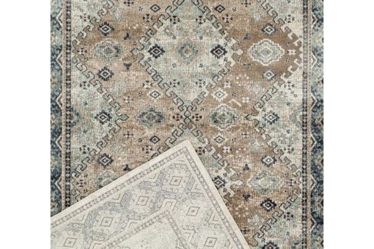 Esquire Melbourne Traditional Beige Rug 290X200cm