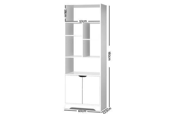 Artiss  Display Cabinet Shelf (White)
