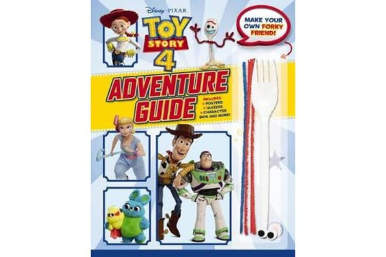 Toy Story 4 - Adventure Guide with Make a Friend for Forky