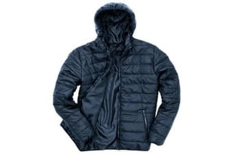 Result Core Mens Soft Padded Jacket (Navy) (3XL UK)