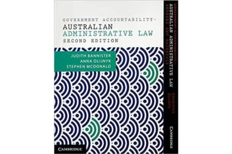 Government Accountability Value Pack - Australian Administrative Law