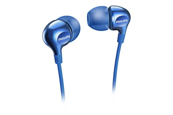 Philips In-Ear Gel Headphones - Blue (SHE3700BL)