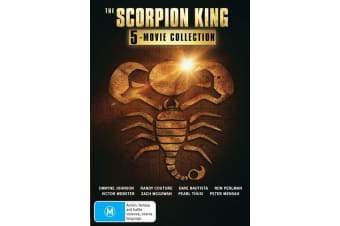 The Scorpion King 5 Movie Collection Box Set DVD Region 4