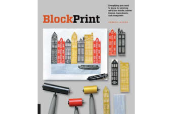 Block Print - Everything you need to know for printing with lino blocks, rubber blocks, foam sheets, and stamp sets
