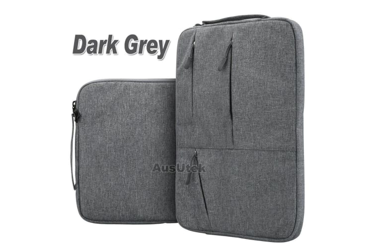 """For MacBook Air 13.3""""New Macbook Pro A1932 With Touch ID Laptop Sleeve Travel Bag Carry Case-Dark Grey"""