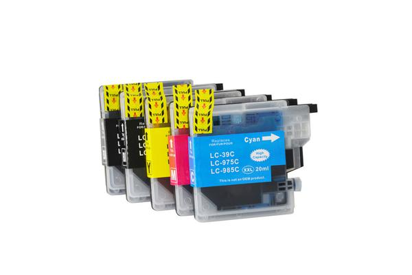 LC39 Compatible Inkjet Cartridge Set 14 Ink Cartridges