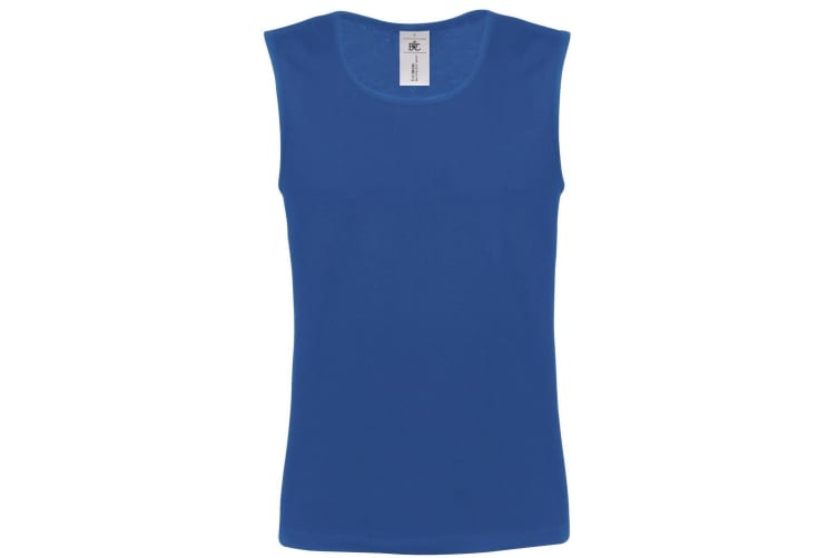 B&C Mens Move Sleeveless Athletic Sports Vest Top (Royal Blue) (L)