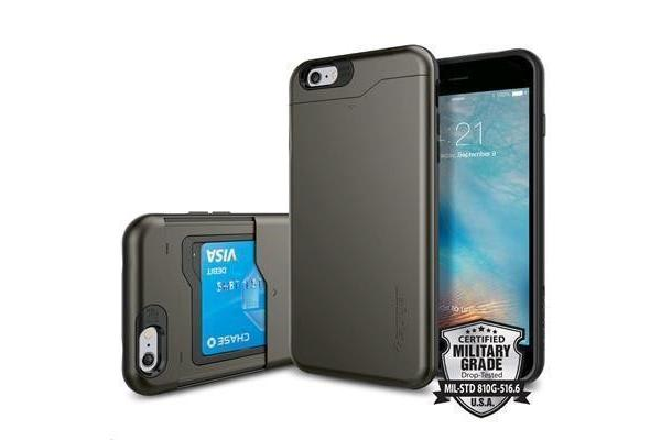 "Spigen iPhone 6s/6 (4.7"") Slim Armor CS Case-Gunmetal"