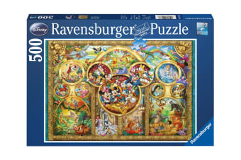 Ravensburger Disney Family 500 Piece Puzzle