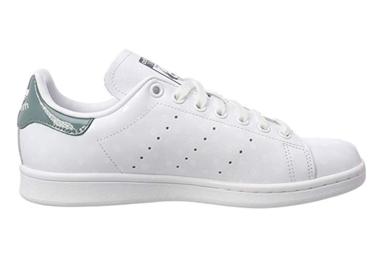 brand new 6f7a7 a7544 Adidas Originals Women's Stan Smith Shoes (White/Raw Green, Size 6)