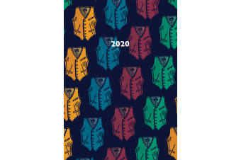 Waistcoats - 2020 Premium Diary Planner A5 Padded Cover Christmas New Year Gift